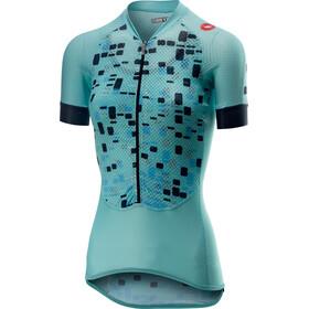 Castelli Climber's Kortærmet cykeltrøje Damer petroleumsgrøn